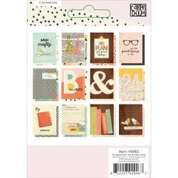 "Reset Girl Double-Sided Pocket Cards 3""X4"" 12/Pkg - 2"
