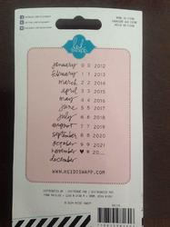 Roller Date Stamp Project Life® - 2
