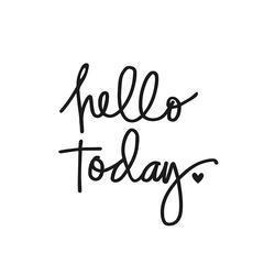 Carpe Diem Small Planner Decal HELLO TODAY - 2