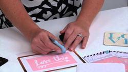 """Art Screens Stencils 3""""x4"""" 2 pkg - La Vita E'Bella - 2"""