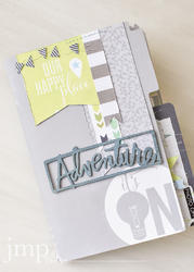 September Skies Daybook Mini Album - 2