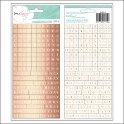 Serendipity Stickers 2 sheets - 2