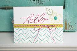 Sew Easy Templates Flourish - 2