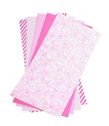 """Shape 'n Tape Washi Sheets Hot Pink 6""""X12"""" 5/Pkg - 2"""