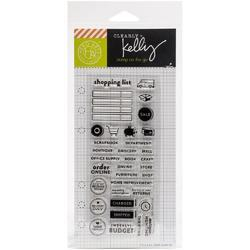 Shopping Planner Clear Stamps - 2