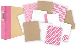 """Sn@p! Binder Album - Pink 6""""x8"""" - 2"""