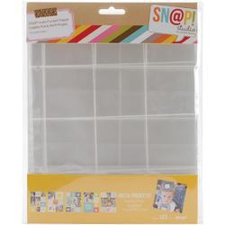 "Sn@p! Variety Pack Insta Pocket Pages For 6""x8"" Binders 10 pk - 2"