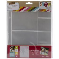 "Sn@p! Insta Pocket Pages For 6""x8"" Binders 10 pkg a - 2"