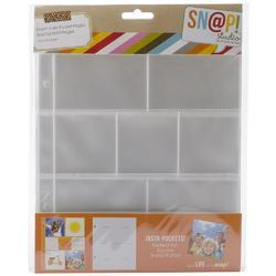 "Sn@p! Insta Pocket Pages For 6""x8"" Binders 10 pkg b - 2"