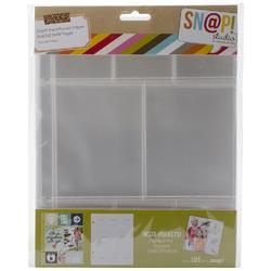 "Sn@p! Insta Pocket Pages For 6""x8"" Binders 10 pkg c - 2"
