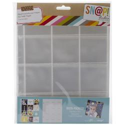 "Sn@p! Insta Pocket Pages For 6""x8"" Binders 10 pkg e - 2"
