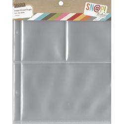 "Sn@p! Pocket Pages (10 ks) Binder Album 6""x8"" - 2"