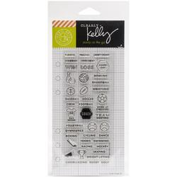 Sports Planner Clear Stamps - 2