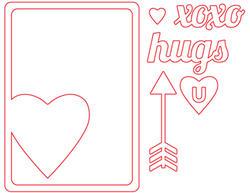 Heart Die Card - 2