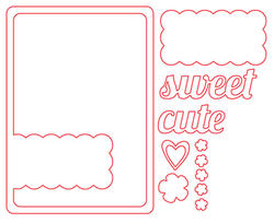 Scalloped Die Card - 2