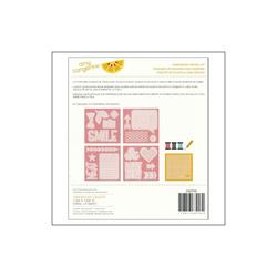 Stitched Hello 12 Piece Embroidery Stencil Kit - 2