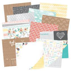 """Stitched Paper Pad 6""""x6"""" 36 pkg - 2"""