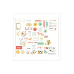 Stitched Shapes Cardstock Die Cuts 49 pkg - 2
