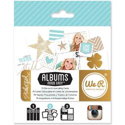 Studio Gold Albums Made Easy Journaling Cards - 2