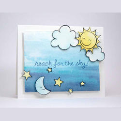 Sunny Skies Clear Stamps - 2