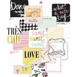 "Sweet Project Life Die-Cut Card Pack 4""x4"" 12 pkg - 2"