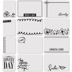 Sweet Project Life Photo Overlays 12 pkg - 2