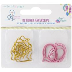 Sweet Routine Variety Pack Decorative Paper Clips 10 pkg Domky/Bubliny - 2