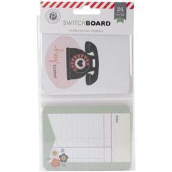 Switchboard Pocket Cards 3x4 24pkg - 2