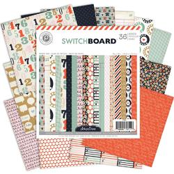 "Switchboard Paper Pad 6""x6"" 36 sheets - 2"