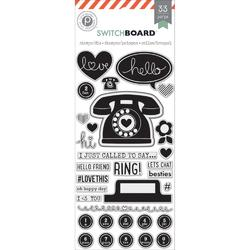 Switchboard Stamps & Die Set 33pcs - 2