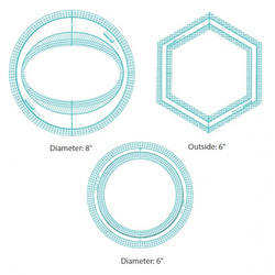 We R Thickers Circle Alignment Guides - 2