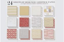 "Tinsel  & Company Paper Pad 6""x6"" 24 pkg - 2"