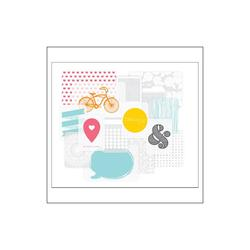 Transparencies Themed Cards 15pkg - 2