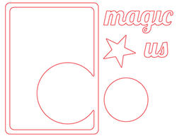 Magic Circle Die Card - 2