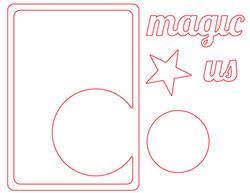 Magic Circle Die Card - 2