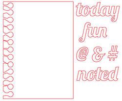 Notebook Die Card - 2