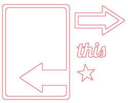This Arrow Die Card - 2