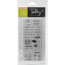 TV Planner Clear Stamps - 2