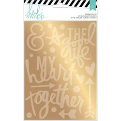 Wanderlust Gold Together Stickers & Foil Kit - 2