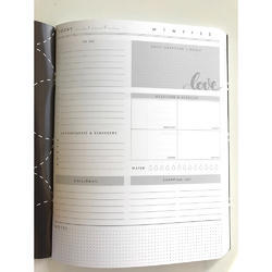 "Color Crush Composition Planner Notebook 9.75""X7.5"" Heart - 2"