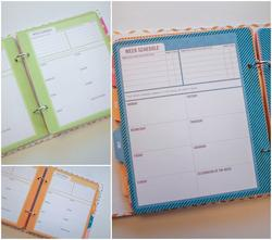 Project Life® Weekly Planner/Info Calendar Pages & Dividers 6x8 - 2