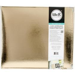 We R Faux Leather 3-Ring Binder 12x12 – GOLD - 2