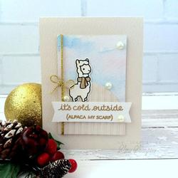 Winter Alpaca Clear Stamps - 2