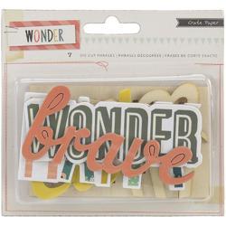 Wonder Phrases Cardstock Die-Cuts - 2