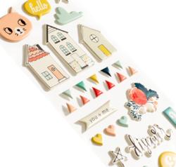 Wonder Puffy Stickers - 2