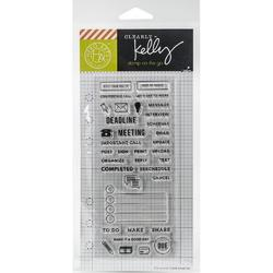 Work Planner Clear Stamps - 2