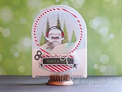 Yeti, Set, Go Clear Stamps - 2