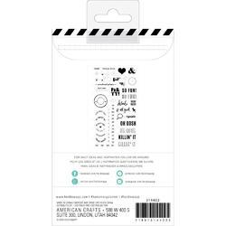 Memory Planner Color Fresh Everyday Clear Stamps - 3