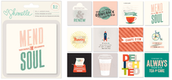 True Stories Cardstock Cards 4x4 12 pkg - 3