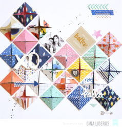 Finders Keepers Cardstock & Acetate Shapes w/Foil Die-Cuts - 3